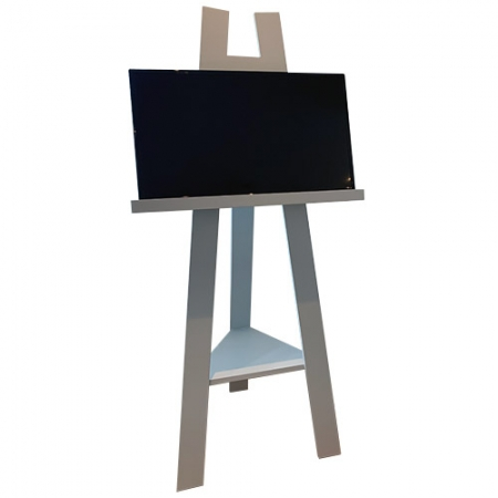TV Easel Stand White Cottage Matakana